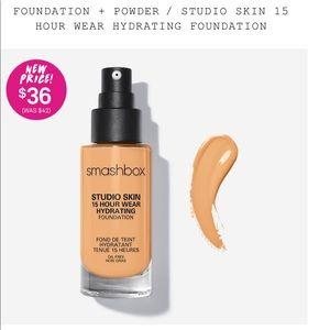 Smashbox Makeup - NWT Smashbox Studio Skin Foundation